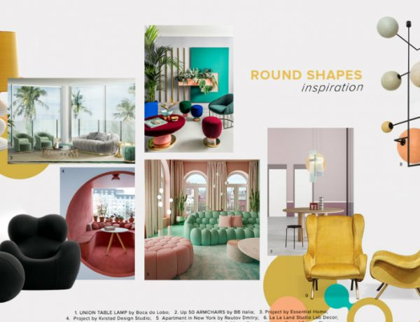bedroom furniture Get Inspired by Top Trends for Your Bedroom Furniture moodboard trends 2020 curved shapes 600x460