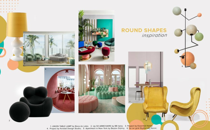 master bedroom ideas Master Bedroom Ideas moodboard trends 2020 curved shapes 870x540