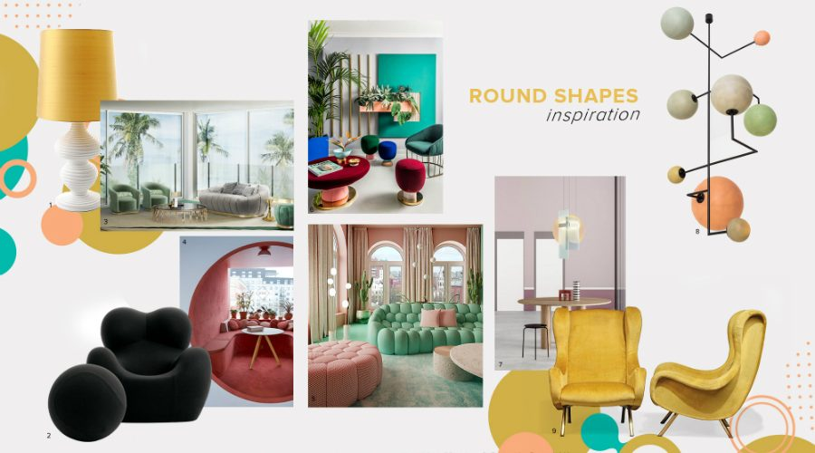 bedroom furniture Get Inspired by Top Trends for Your Bedroom Furniture moodboard trends 2020 curved shapes 900x500 master bedroom ideas Master Bedroom Ideas moodboard trends 2020 curved shapes 900x500