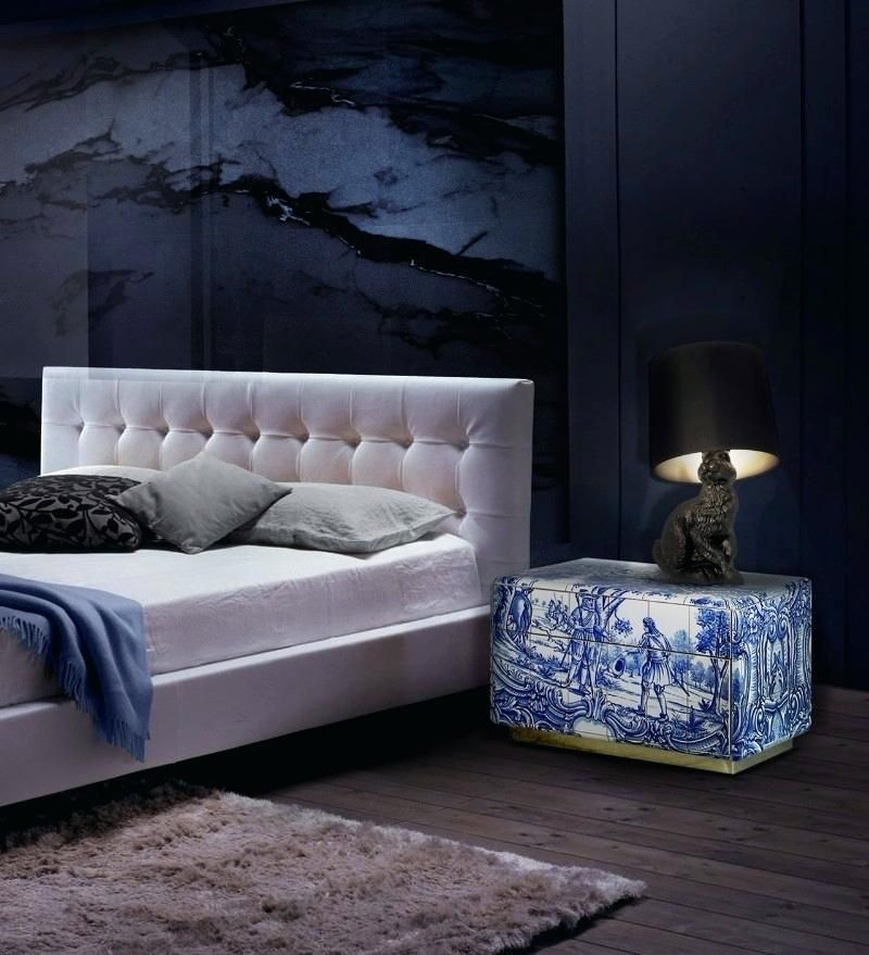 Modern Nightstands for a Luxury Bedroom modern nightstands Modern Nightstands for a Luxury Bedroom navy blue bedroom ideas blue bedroom charming navy blue bedroom ideas heritage nightstand master bedroom ideas navy blue design navy blue decorating ideas