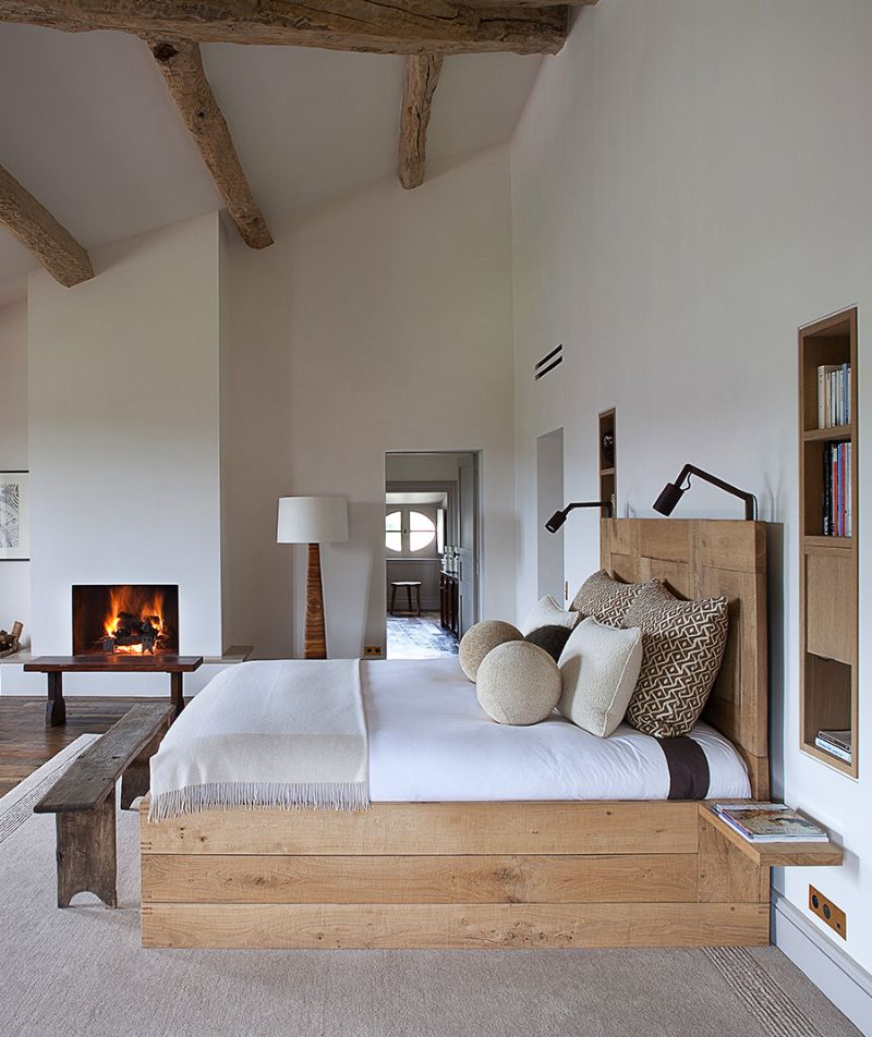 bedroom interior Breathe the Nature Into Your Bedroom Interior pierre yovanovitch