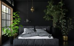 bedroom interior Breathe the Nature Into Your Bedroom Interior plants 240x150
