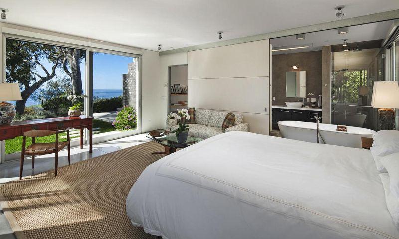 bedroom interior Elegant Bedroom Interior Designs in Celebrities' Homes portman