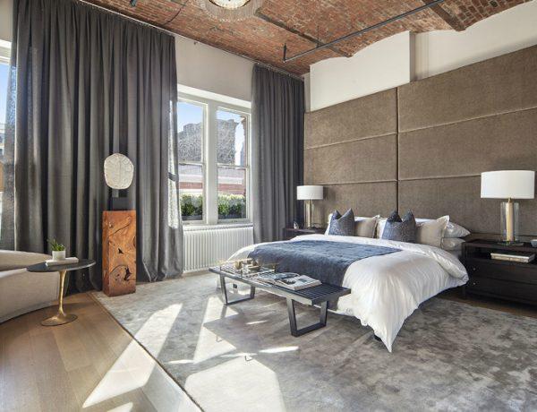 bedroom interior Elegant Bedroom Interior Designs in Celebrities' Homes zayn loft 600x460