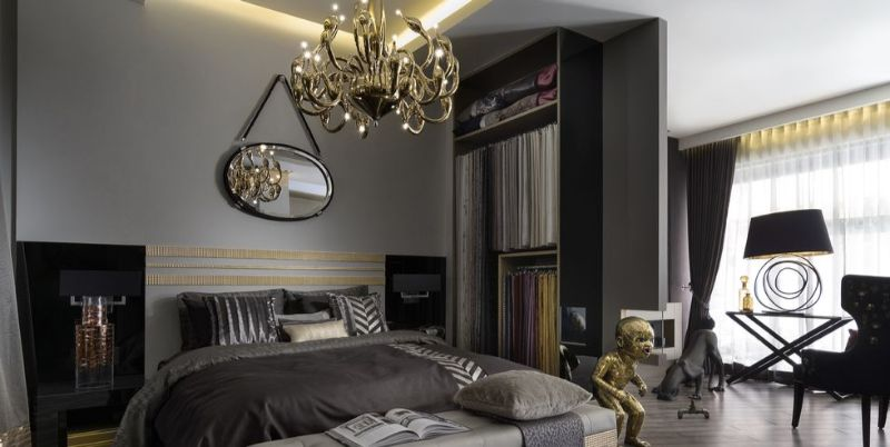 10 Impressive Bedrooms With Luxury Chandeliers luxury chandeliers 10 Impressive Bedrooms With Luxury Chandeliers 10 Impressive Bedrooms With Luxury Chandeliers 4