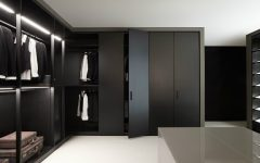 black walk-in closets Design Inspiration: 10 Modern And Contemporary Black Walk-in Closets featured 5 240x150