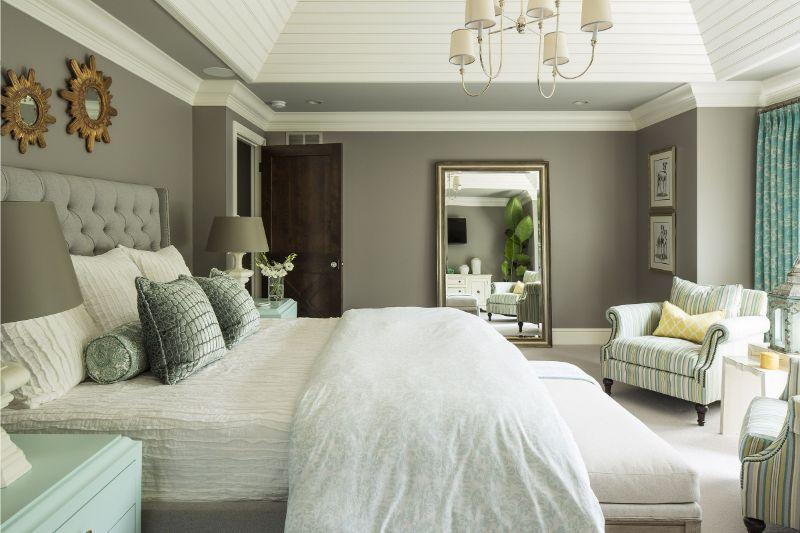 10 Contemporary Bedroom Designs With Floor Mirrors contemporary bedroom 10 Contemporary Bedroom Designs With Floor Mirrors 1