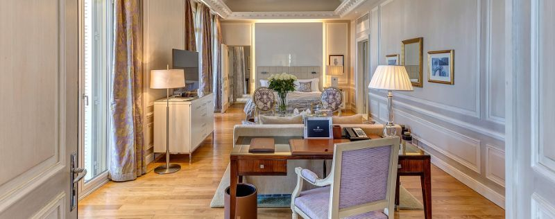The 5 Best Unique And Luxury Suites in Monaco luxury suites The 5 Best Unique And Luxury Suites in Monaco H  tel Hermitage   s Princely Diamond Suite 1