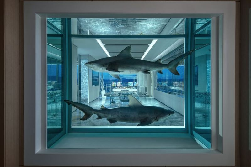 The World's Most Expensive Hotel Suite In Las Vegas by Damien Hirst the world's most expensive hotel suite The World's Most Expensive Hotel Suite In Las Vegas by Damien Hirst The World   s Most Expensive Hotel Suite In Las Vegas by Damien Hirst 12