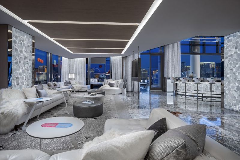 The World's Most Expensive Hotel Suite In Las Vegas by Damien Hirst the world's most expensive hotel suite The World's Most Expensive Hotel Suite In Las Vegas by Damien Hirst The World   s Most Expensive Hotel Suite In Las Vegas by Damien Hirst 7