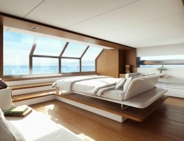superyacht 10 Exquisite Superyacht Bedroom Designs To Get You Impressed featured 7 600x460