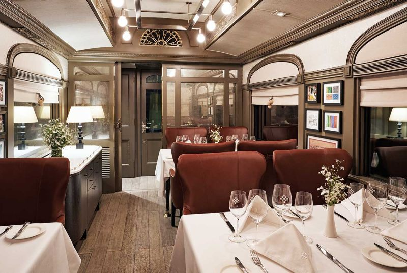 """A Lavish Hotel In Motion"" - South America's First Every Luxury Sleeper Train luxury sleeper train ""A Lavish Hotel In Motion"" – South America's First Every Luxury Sleeper Train A Lavish Hotel In Motion South Americas First Every Luxury Sleeper Train 8"
