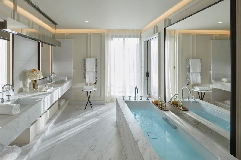 Inside The New Modern Suite At Mandarin Oriental in Paris modern suite Inside The New Modern Suite At Mandarin Oriental in Paris Inside The New Modern Suite At Mandarin Oriental in Paris 5