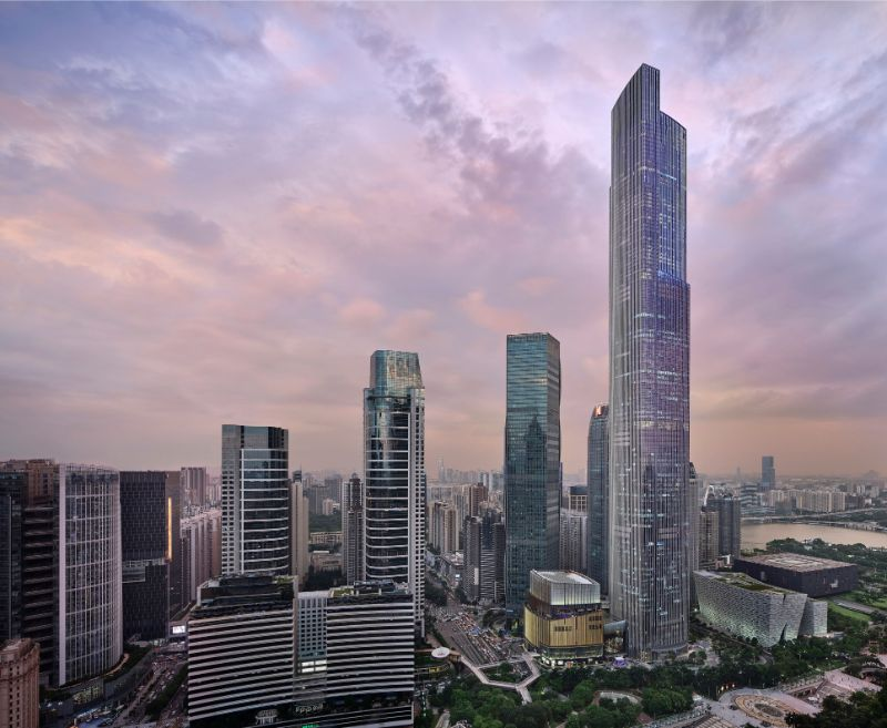 Rosewood Guangzhou - The World's Tallest Five-Star Hotel world's tallest five-star hotel Rosewood Guangzhou – The World's Tallest Five-Star Hotel Inside The Rosewood Guangzhou The World   s Tallest Five Star Hotel 10