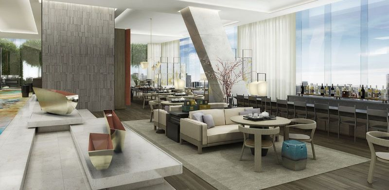 Rosewood Guangzhou - The World's Tallest Five-Star Hotel world's tallest five-star hotel Rosewood Guangzhou – The World's Tallest Five-Star Hotel Inside The Rosewood Guangzhou The World   s Tallest Five Star Hotel 8