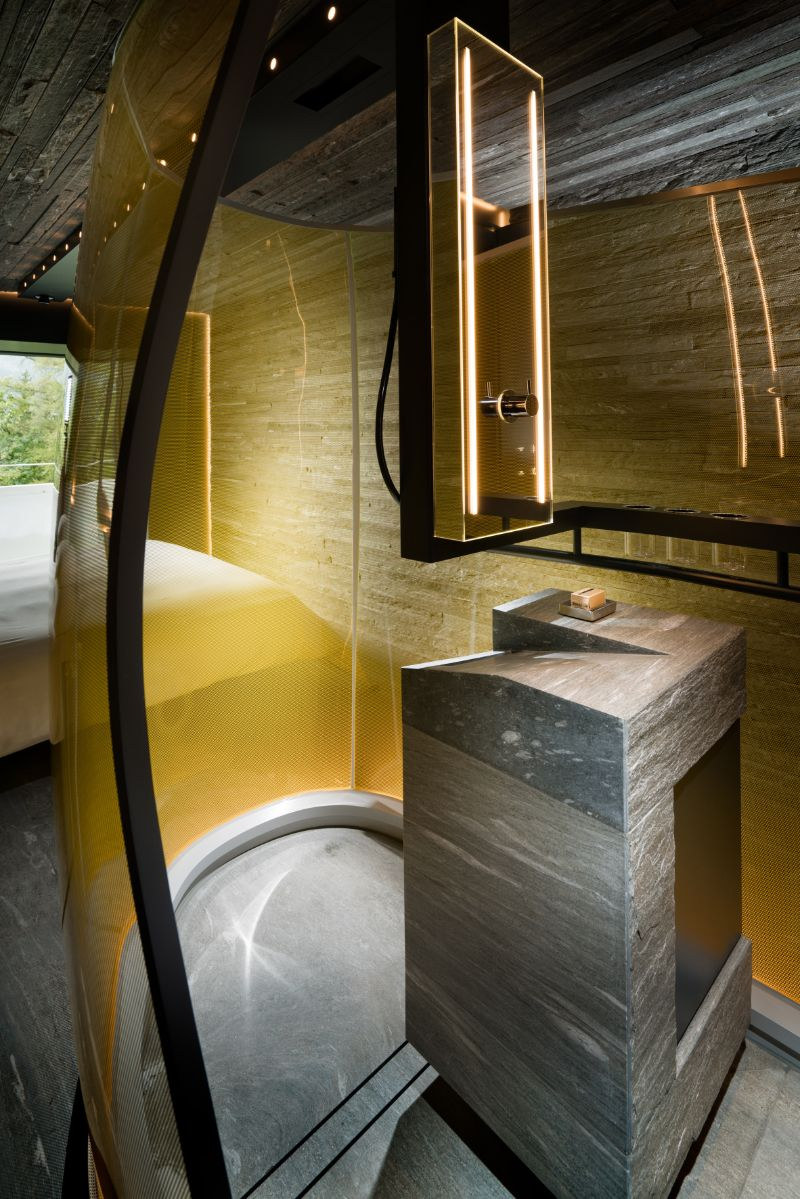 Discover These Luxury Bedroom Designs At Zumthor's Vals Spa luxury bedroom designs Luxury Bedroom Designs At 7132 Hotel: The Art of Alpine Luxury Luxury Bedroom Design by Morphosis At Zumthors Vals Spa 3