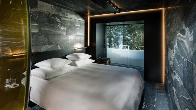 Discover These Luxury Bedroom Designs At Zumthor's Vals Spa luxury bedroom designs Luxury Bedroom Designs At 7132 Hotel: The Art of Alpine Luxury Luxury Bedroom Design by Morphosis At Zumthors Vals Spa