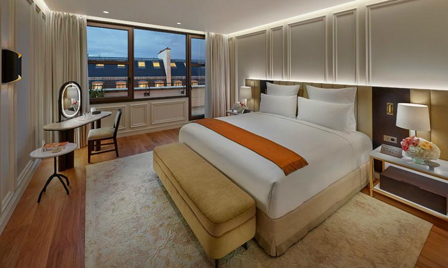 modern suite Inside The New Modern Suite At Mandarin Oriental in Paris featured 3