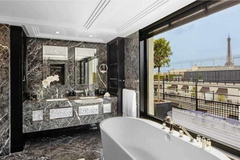 The Most Expensive Suite At Paris's Prince de Galles Hotel