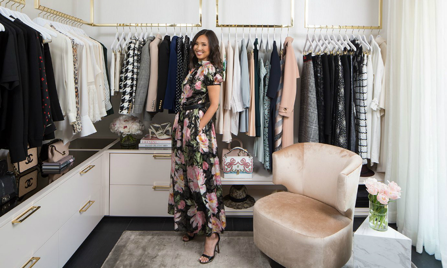 celebrity closet Lisa Adams Exposes Her Décor Secrets To Design A Celebrity Closet feat 2