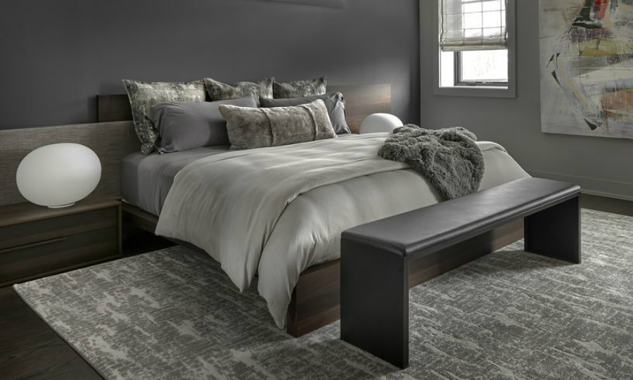 modern bedroom 10 Modern Bedroom Ideas With Low Platform Beds feat 3
