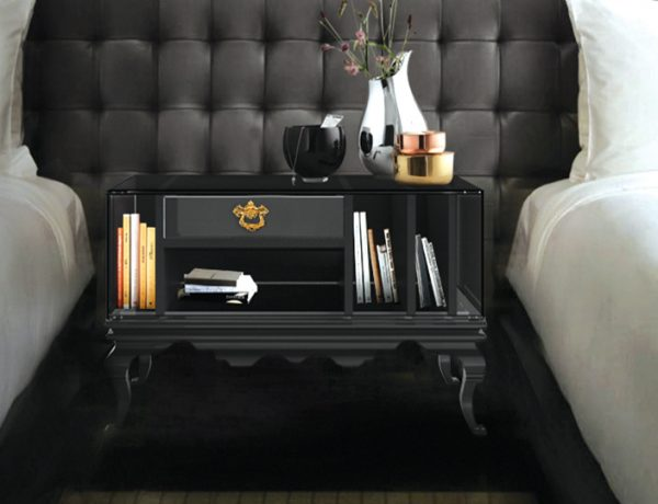 bedside tables Contemporary Dark Bedside Tables You'll Love featured 1 600x460