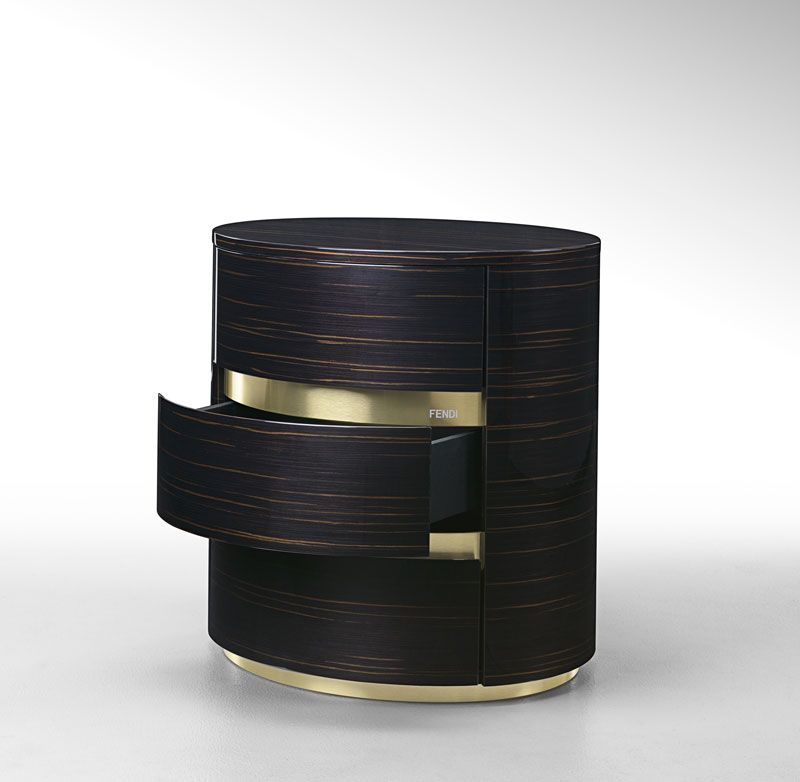 Contemporary Dark Bedside Tables You'll Love bedside tables Contemporary Dark Bedside Tables You'll Love fendi casa asja
