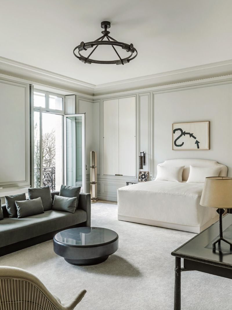 When White Means Modernity: Bedroom Design Projects By Joseph Dirand joseph dirand When White Means Modernity: Bedroom Design Projects By Joseph Dirand joseph dirand bedroom