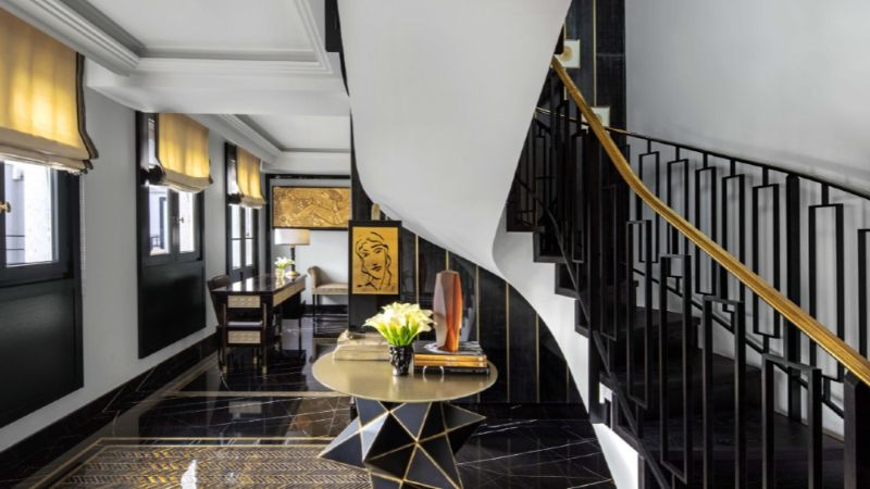 expensive suite The Most Expensive Suite At Paris's Prince de Galles Hotel prince de galles paris 2019 72 1