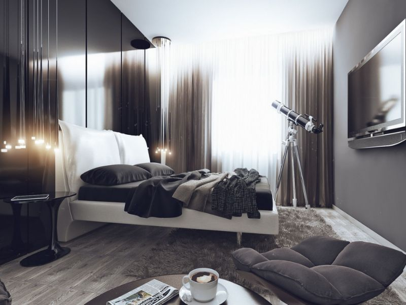 Get Inspired By 10 Modern Bedroom Design Projects For Men modern bedroom Get Inspired By 10 Modern Bedroom Design Projects For Men 3 1