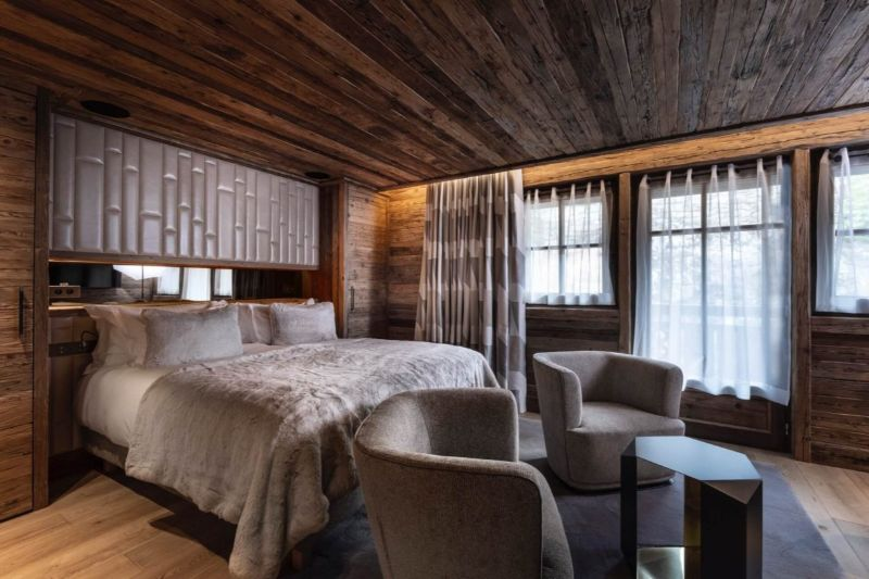 Contemporary Bedrooms Inside French Alps Luxury Hotels contemporary bedrooms Contemporary Bedrooms Inside French Alps Luxury Hotels Armancette 1