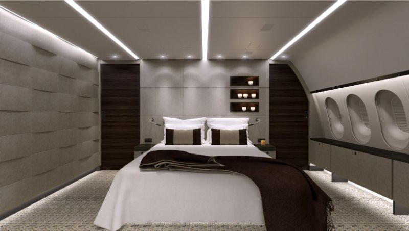 Get Impressed By These Five Luxury Bedrooms Inside Private Jets luxury bedrooms Get Impressed By These Five Luxury Bedrooms Inside Private Jets Boeing 787 8 BBJ 1