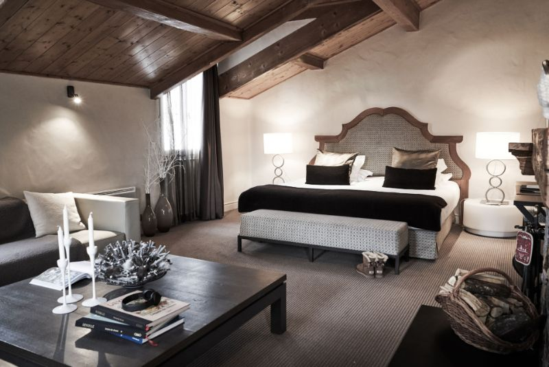 Contemporary Bedrooms Inside French Alps Luxury Hotels contemporary bedrooms Contemporary Bedrooms Inside French Alps Luxury Hotels Le Chabichou 1