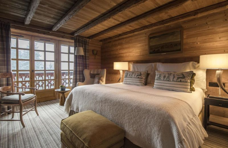 Contemporary Bedrooms Inside French Alps Luxury Hotels contemporary bedrooms Contemporary Bedrooms Inside French Alps Luxury Hotels Les Chalets du Mont d   Arbois 2