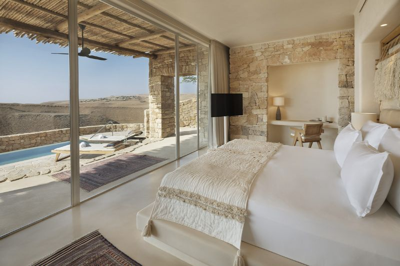 Oasis Or Mirage? Explore These Five Luxury Hotels In The Desert! luxury hotels Oasis Or Mirage? Explore These Five Luxury Hotels In The Desert! Six Senses Shaharut Negev Desert Israel 1