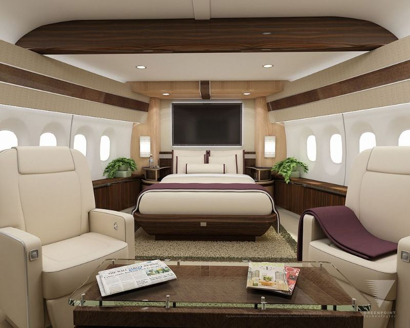 Get Impressed By These Five Luxury Bedrooms Inside Private Jets luxury bedrooms Get Impressed By These Five Luxury Bedrooms Inside Private Jets The Boeing 747 8 VIP 1