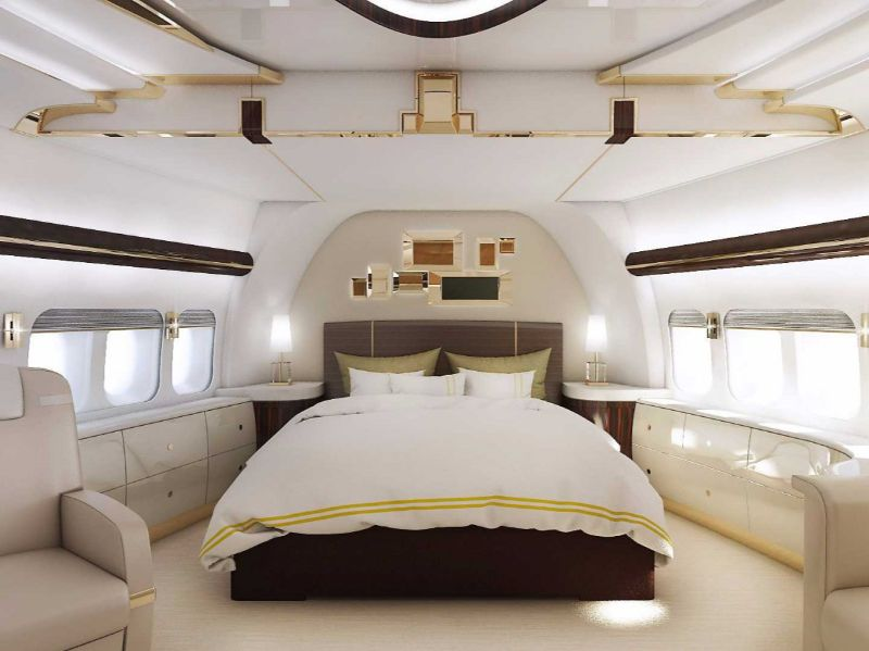 Get Impressed By These Five Luxury Bedrooms Inside Private Jets luxury bedrooms Get Impressed By These Five Luxury Bedrooms Inside Private Jets The Boeing 747 8 VIP 2