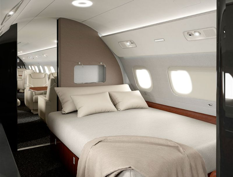 Get Impressed By These Five Luxury Bedrooms Inside Private Jets
