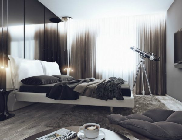 modern bedroom Get Inspired By 10 Modern Bedroom Design Projects For Men featured 10 600x460