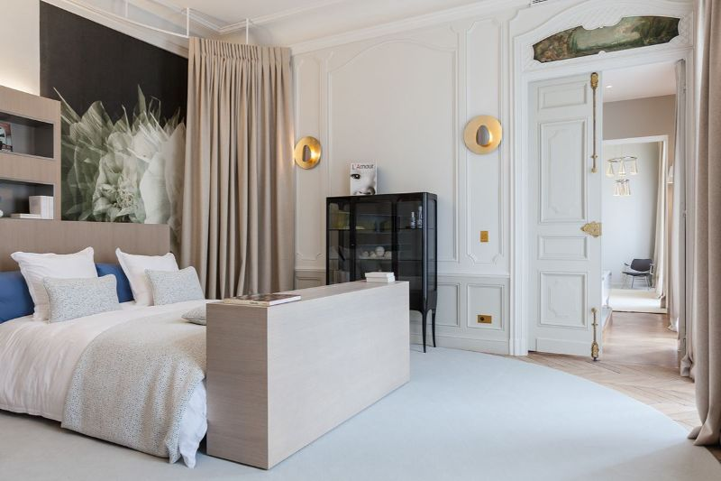 Contemporary Bedroom Design Projects By French Top Interior Designers french top interior designers Midnight In Paris: Bedroom Interiors By French Top Interior Designers Gerard Faivre 2