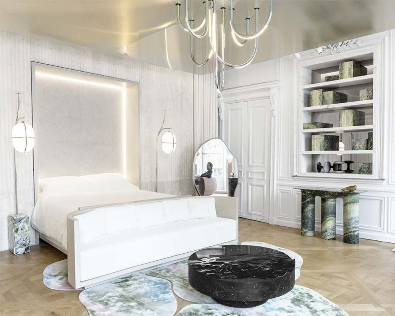 Contemporary Bedroom Design Projects By French Top Interior Designers french top interior designers Midnight In Paris: Bedroom Interiors By French Top Interior Designers Mathieu Lehanneur 2