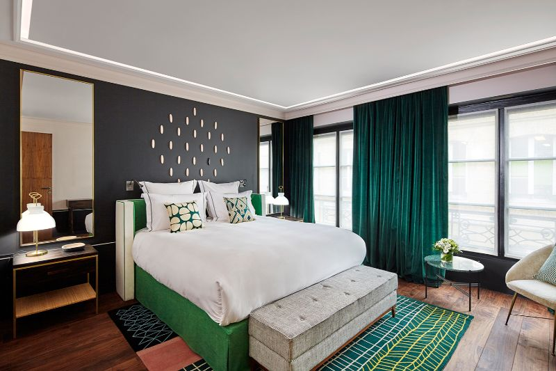 Contemporary Bedroom Design Projects By French Top Interior Designers french top interior designers Midnight In Paris: Bedroom Interiors By French Top Interior Designers Sarah Lavoine 2