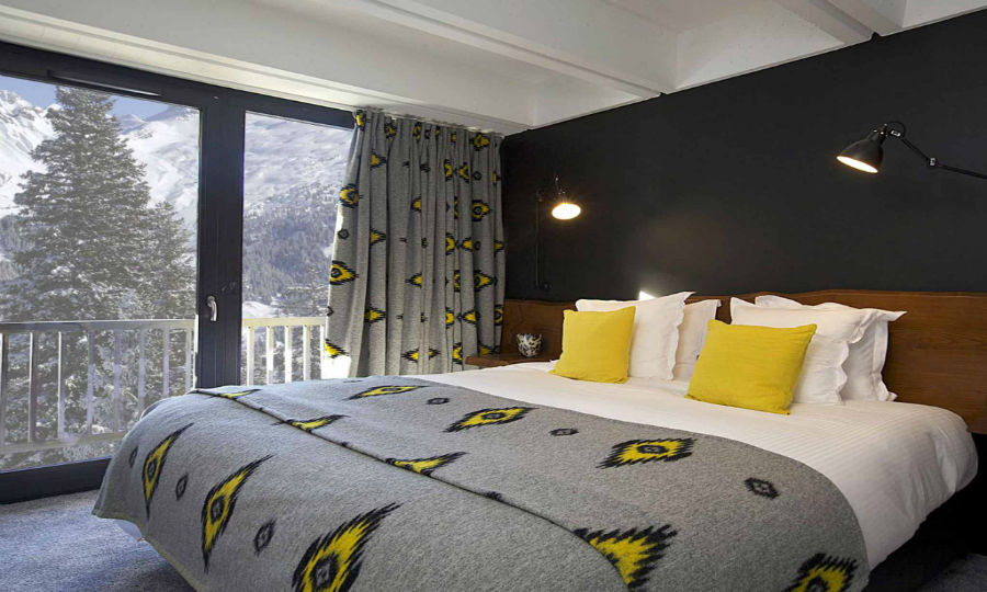contemporary bedrooms Inside The Contemporary Bedrooms In The Most Brutalist Hotels featured 11
