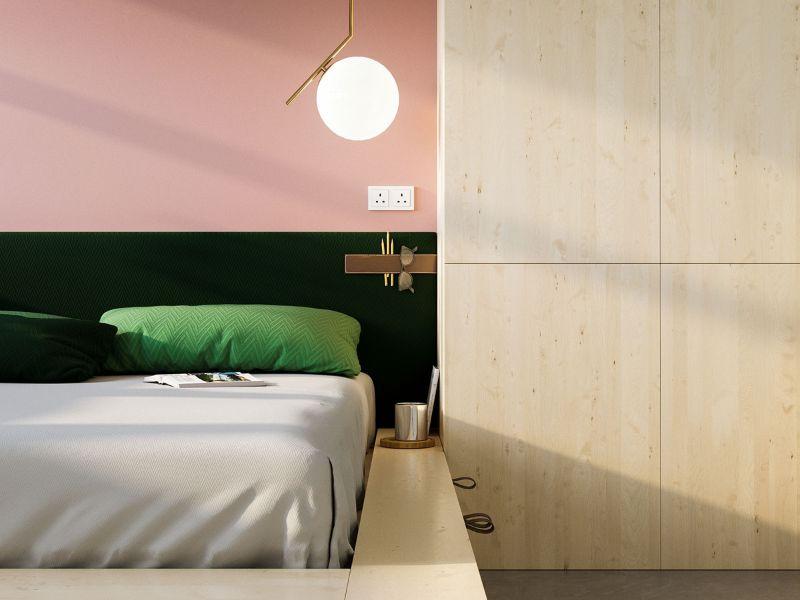 Michael Anastassiades's Unique Bedroom Design Projects michael anastassiades Michael Anastassiades's Unique Bedroom Design Projects inspiring small studio apartment bed platform