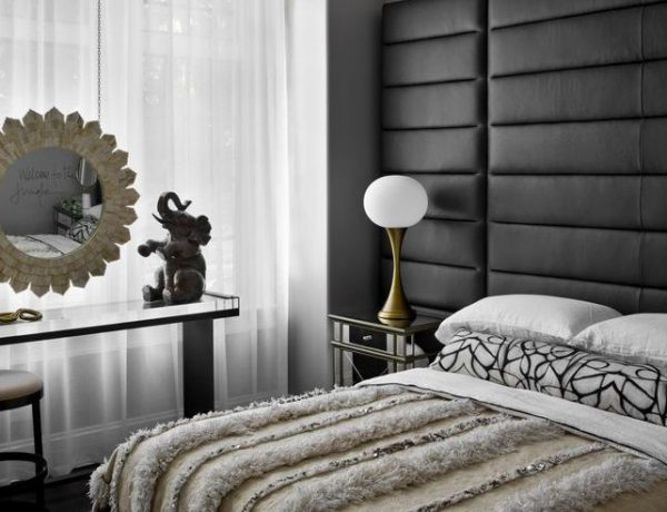 contemporary bedroom Dark Meets Modernity: 10 Contemporary Bedroom Designs To Inspire You 2 600x460