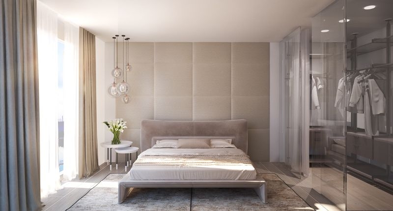 Modern Design Ideas: 10 Contemporary Bedrooms With Attached Wardrobes contemporary bedrooms Modern Design Ideas: 10 Contemporary Bedrooms With Attached Wardrobes Modern Design Ideas 10 Contemporary Bedrooms With Attached Wardrobes 1