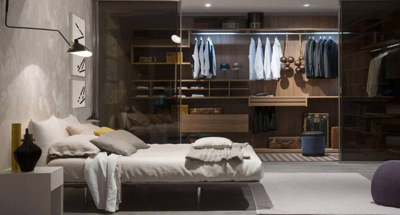 Modern Design Ideas: 10 Contemporary Bedrooms With Attached Wardrobes contemporary bedrooms Modern Design Ideas: 10 Contemporary Bedrooms With Attached Wardrobes Modern Design Ideas 10 Contemporary Bedrooms With Attached Wardrobes 10