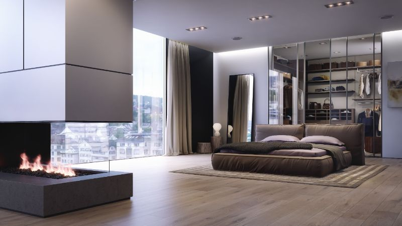 Modern Design Ideas: 10 Contemporary Bedrooms With Attached Wardrobes contemporary bedrooms Modern Design Ideas: 10 Contemporary Bedrooms With Attached Wardrobes Modern Design Ideas 10 Contemporary Bedrooms With Attached Wardrobes 2