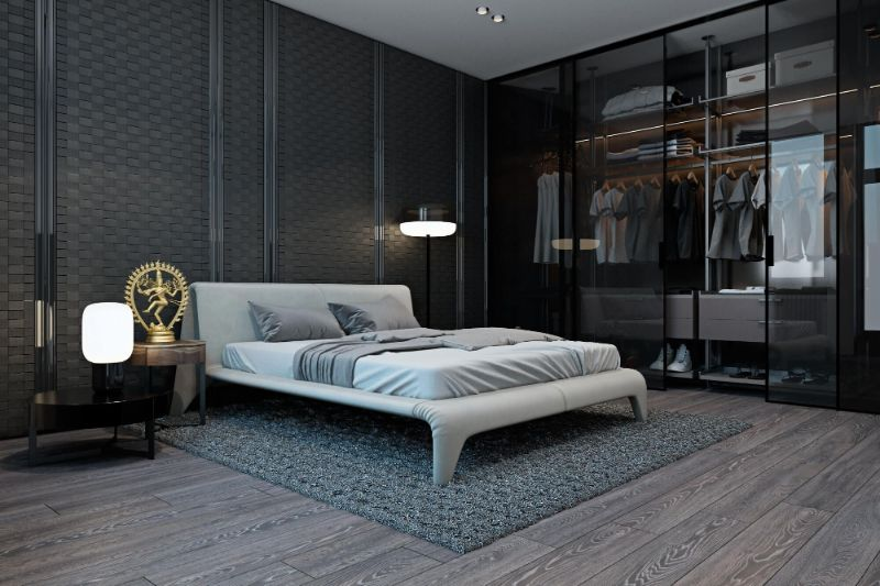 Modern Design Ideas: 10 Contemporary Bedrooms With Attached Wardrobes contemporary bedrooms Modern Design Ideas: 10 Contemporary Bedrooms With Attached Wardrobes Modern Design Ideas 10 Contemporary Bedrooms With Attached Wardrobes 7