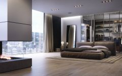 contemporary bedrooms Modern Design Ideas: 10 Contemporary Bedrooms With Attached Wardrobes featured 6 240x150